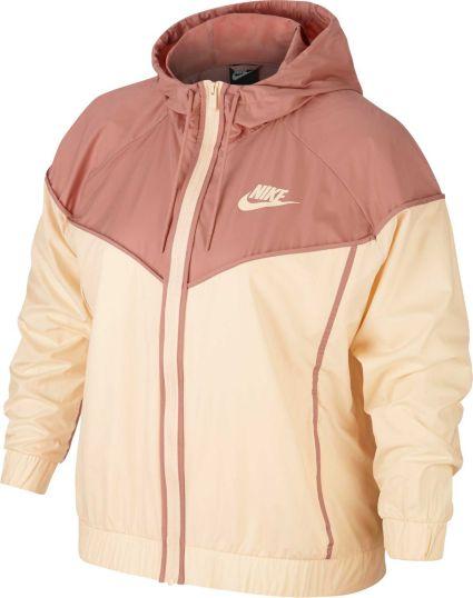 Nike Women s Plus Size Sportswear Windrunner Jacket. noImageFound 0d818418e