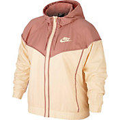 bb2a0c880bb Nike Women s Plus Size Sportswear Windrunner Jacket