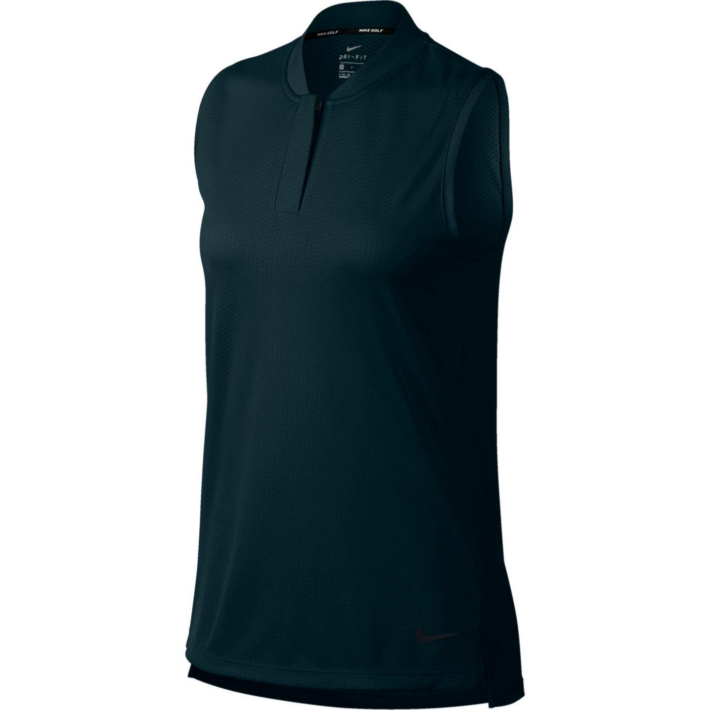 Nike Women's Sleeveless Blade Dry Golf Polo