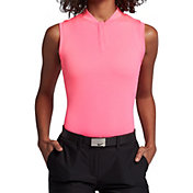 Nike Women's Sleeveless Blade Dry Golf Polo