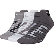 Nike Women's Dry Cushion Low Cut Training Socks 3 Pack