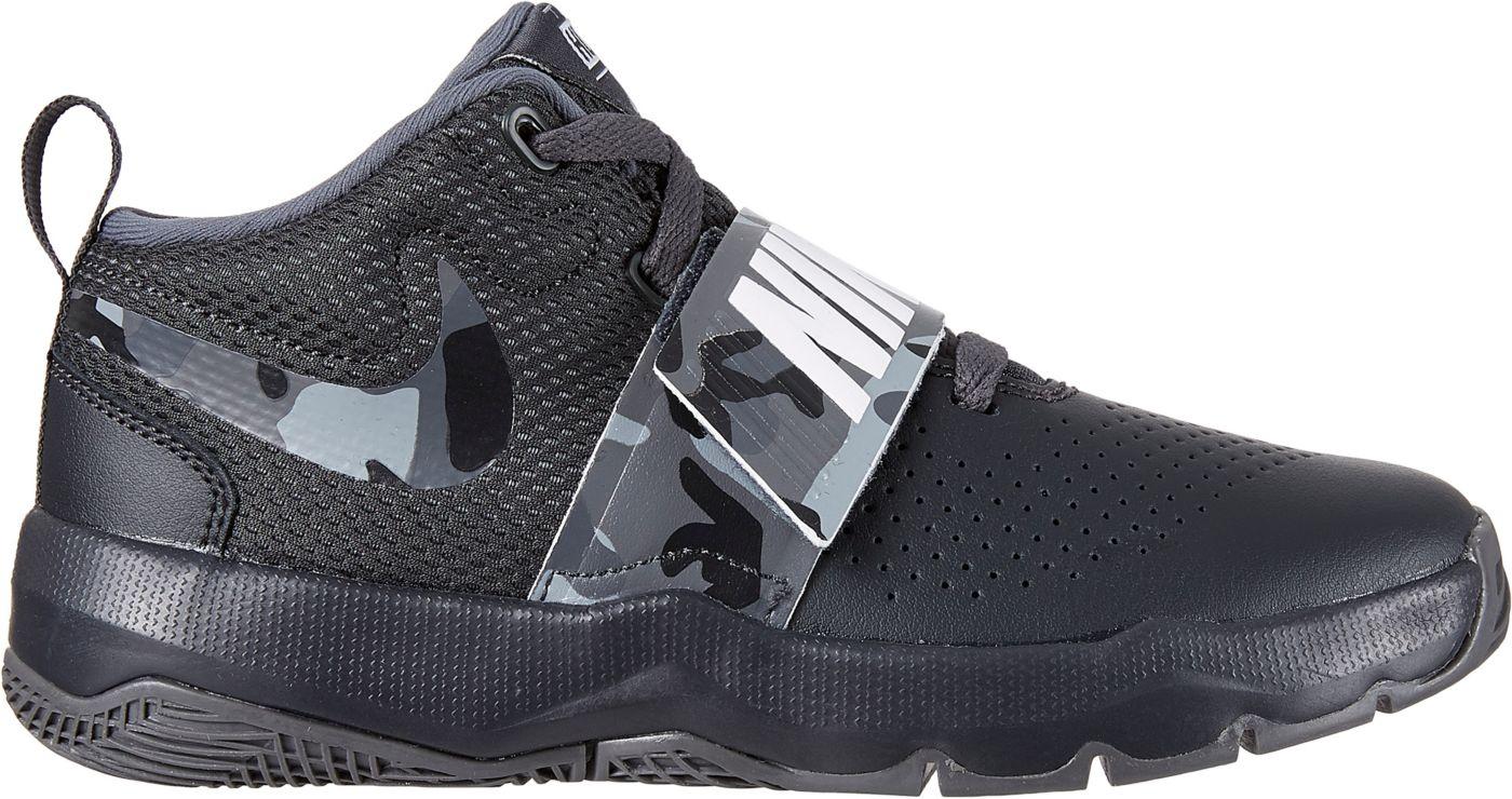 Nike Kids' Preschool Team Hustle D 8 Camo Basketball Shoes