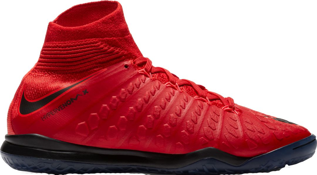 975f52a3ef39 Nike Kids' HypervenomX Proximo II Dynamic Fit Indoor Soccer Shoes ...