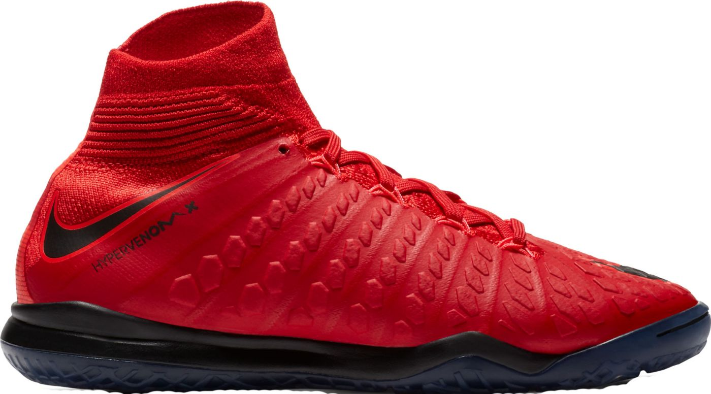 Nike Kids' HypervenomX Proximo II Dynamic Fit Indoor Soccer Shoes