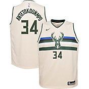 Nike Youth Milwaukee Bucks Giannis Antetokounmpo Dri-FIT City Edition Swingman Jersey