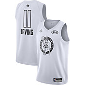 Jordan Youth 2018 NBA All-Star Game Kyrie Irving White Dri-FIT Swingman Jersey