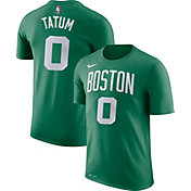 Nike Youth Boston Celtics Jayson Tatum #0 Dri-FIT Kelly Green T-Shirt