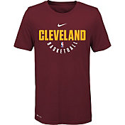 Nike Youth Cleveland Cavaliers Dri-FIT Burgundy Practice T-Shirt