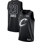 Jordan Youth 2018 NBA All-Star Game LeBron James Black Dri-FIT Swingman Jersey