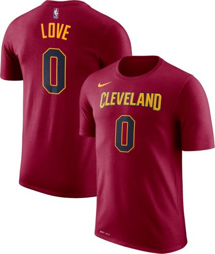 50cadf223 Nike Youth Cleveland Cavaliers Kevin Love  0 Dri-FIT Burgundy T-Shirt.  noImageFound