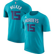 Jordan Youth Charlotte Hornets Kemba Walker #15 Dri-FIT Teal T-Shirt