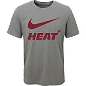 Nike Youth Miami Heat Dri-FIT Legend Grey T-Shirt