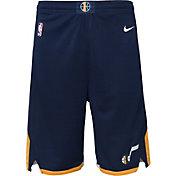Nike Youth Utah Jazz Dri-FIT Navy Swingman Shorts