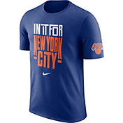 """Nike Youth New York Knicks Dri-FIT """"In It For New York City"""" Royal T-Shirt"""