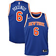 Nike Youth New York Knicks Kristaps Porzingis #6 Royal Dri-FIT Swingman Jersey