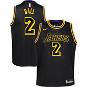 Nike Youth Los Angeles Lakers Lonzo Ball Dri-FIT City Edition Swingman Jersey