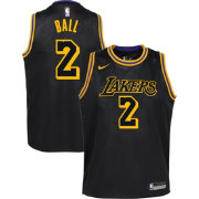 Nike Youth Los Angeles Lakers Lonzo Ball Dri-FIT City Edition Swingman  Jersey cc8a71531