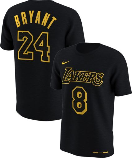 0d06834fb Nike Youth Los Angeles Lakers Kobe Bryant  8    24 Retired Dri-FIT ...