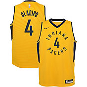 Nike Youth Indiana Pacers Victor Oladipo #4 Gold Dri-FIT Swingman Jersey