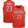 Nike Youth New Orleans Pelicans Anthony Davis #23 Red Statement Dri-FIT Swingman Jersey
