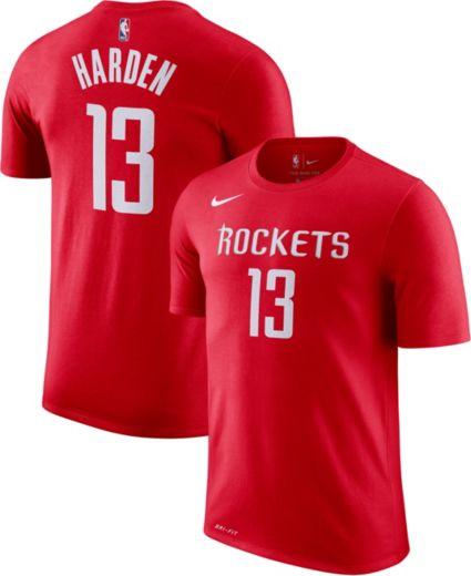 26b13df13 Nike Youth Houston Rockets James Harden  13 Dri-FIT Red T-Shirt.  noImageFound