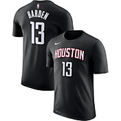 Nike Youth Houston Rockets James Harden #13 Dri-FIT Statement Black T-Shirt