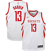 2146012f220 Product Image · Nike Youth Houston Rockets James Harden  13 White Dri-FIT  Swingman Jersey