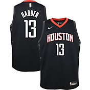 Nike Youth Houston Rockets James Harden #13 Black Dri-FIT Statement Swingman Jersey