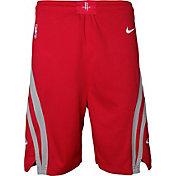 Nike Youth Houston Rockets Dri-FIT Red Swingman Shorts
