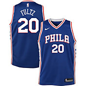 Nike Youth Philadelphia 76ers Markelle Fultz #20 Royal Dri-FIT Swingman Jersey