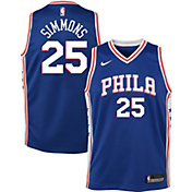 Product Image · Nike Youth Philadelphia 76ers Ben Simmons  25 Royal Dri-FIT Swingman  Jersey d9fbd02ec