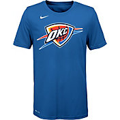 Nike Youth Oklahoma City Thunder Dri-FIT Blue Logo T-Shirt