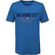 Nike Youth Oklahoma City Thunder Dri-FIT Blue Practice T-Shirt