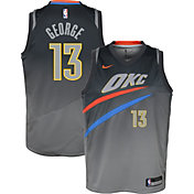Nike Youth Oklahoma City Thunder Paul George Dri-FIT City Edition Swingman Jersey