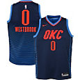 Nike Youth Oklahoma City Thunder Russell Westbrook #0 Navy Dri-FIT Swingman Jersey