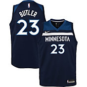 Nike Youth Minnesota Timberwolves Jimmy Butler #23 Navy Dri-FIT Swingman Jersey