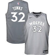 Nike Youth Minnesota Timberwolves Karl-Anthony Towns Dri-FIT City Edition Swingman Jersey