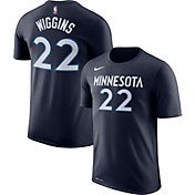 Nike Youth Minnesota Timberwolves Andrew Wiggins #22 Dri-FIT Navy T-Shirt