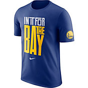 "Nike Youth Golden State Warriors Dri-FIT ""In It For The Bay"" Royal T-Shirt"