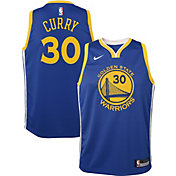 2a3f66895e1 Product Image · Nike Youth Golden State Warriors Stephen Curry #30 Royal  Dri-FIT Swingman Jersey