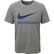 Nike Youth Golden State Warriors Dri-FIT Legend Grey T-Shirt