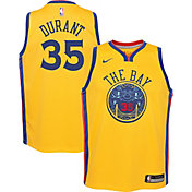 Nike Youth Golden State Warriors Kevin Durant Dri-FIT City Edition Swingman Jersey