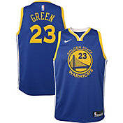 Nike Youth Golden State Warriors Draymond Green #23 Royal Dri-FIT Swingman Jersey
