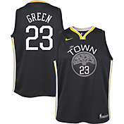 Nike Youth Golden State Warriors Draymond Green #23 Grey Dri-FIT Swingman Jersey