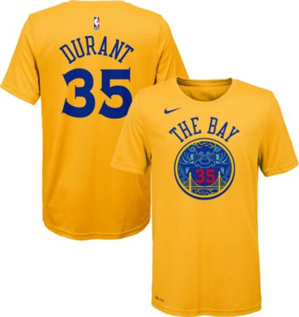 Nike Youth Golden State Warriors Kevin Durant Dri-FIT City Edition T-Shirt.  noImageFound 98644b242