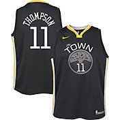 Nike Youth Golden State Warriors Klay Thompson #11 Grey Statement Dri-FIT Swingman Jersey