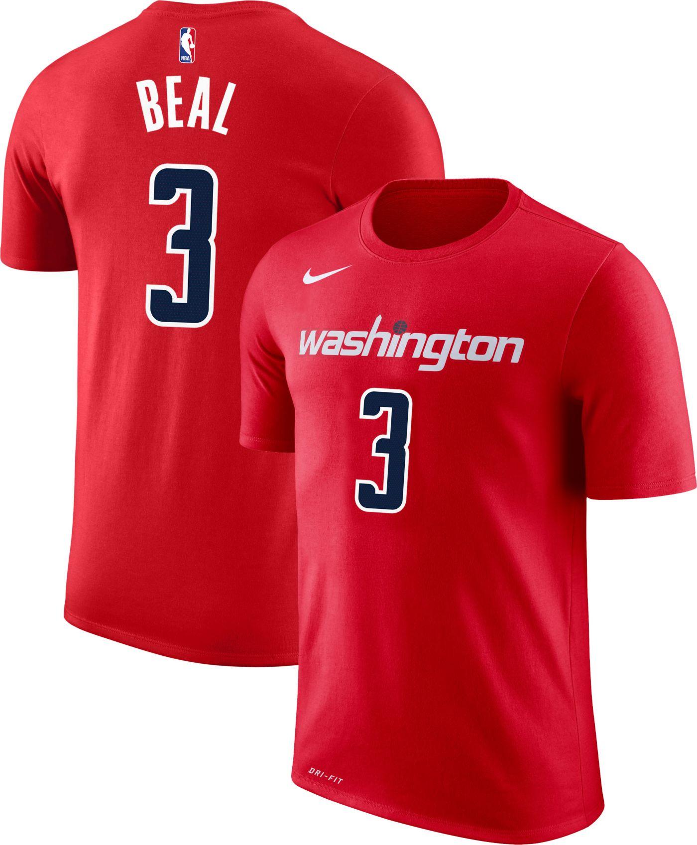 Nike Youth Washington Wizards Bradley Beal #3 Dri-FIT Red T-Shirt