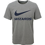 Nike Youth Washington Wizards Dri-FIT Legend Grey T-Shirt