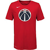 Nike Youth Washington Wizards Dri-FIT Red Logo T-Shirt