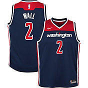 Nike Youth Washington Wizards John Wall #2 Navy Statement Dri-FIT Swingman Jersey